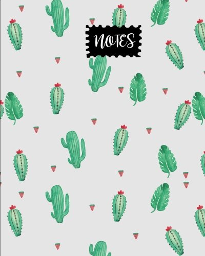 Notes: Watermelon & Cactus Journal, size 8