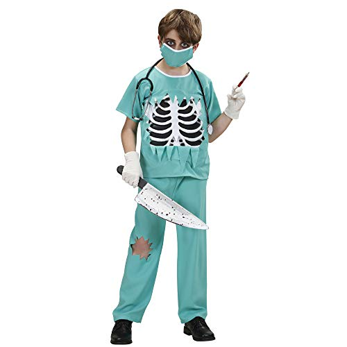 Children's Scary Surgeon Costume Small 5-7 Yrs (128cm) For Er Gp Hospital Fancy ()