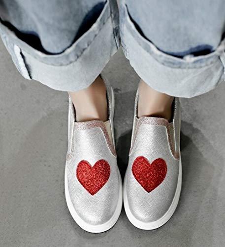 Misssasa Oro Scarpe Moda Donna Casual Shoe zUrpzY