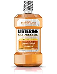 Listerine Ultraclean Oral Care Antiseptic Mouthwash...