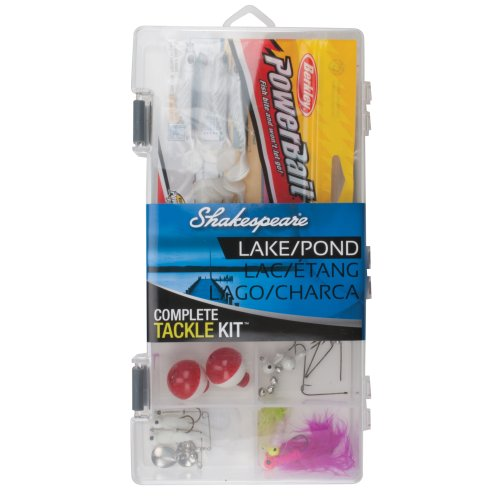 Lake/Pond Box Kit with Tackle Management Tools and Equipment