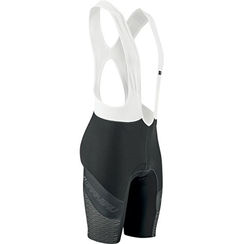 Louis Garneau Cb Carbon Lazer Bib Shorts - Men's Black/Iron Gray, S ()