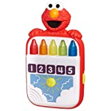 Playskool Sesame Street Steps To School Elmo's Count Along Crayons Toy
