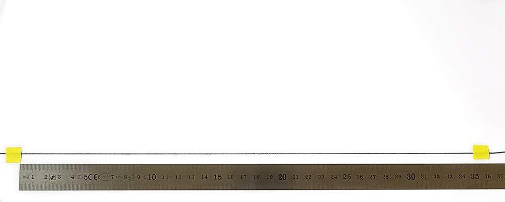 Blanco 300 m Caja 10 Canillas Matsa Fruncir Hilo Tricotar Elastico