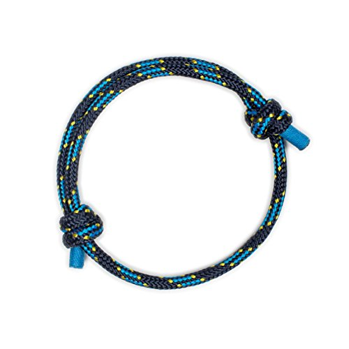 Woven Design Bracelet - Wind Passion Dark Blue Braided Waterproof Rope Bracelet Gift for Him