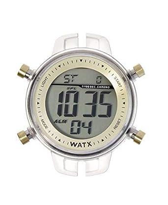 R. WATX COLORS DIG. COL.CHOCOLATE. relojes unisex RWA1008: WatxandCo: Amazon.es: Relojes