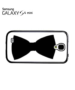 Bow Tie Smart Suit Tuxedo Mobile Cell Phone Case Samsung Galaxy S4 Mini Black