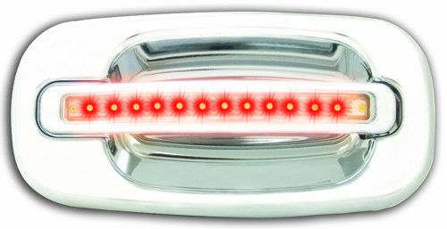 IPCW CLR99C18F1 Chrome with Red LED and Clear Lens Front ...