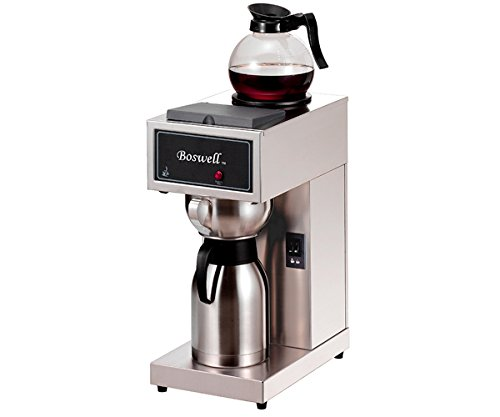 Boswell Commercial Equipment DCK/DXK DC Pour Over Brewer, Model-1 Airpot Style, 14'' Length, 9'' Width, 21'' Height by Boswell Commercial Equipment