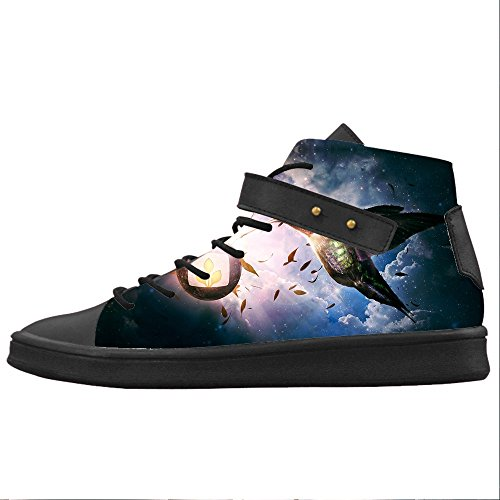 Women's Shoes Hummingbird Canvas Scarpe Custom Le Scarpe e9IYWEDH2