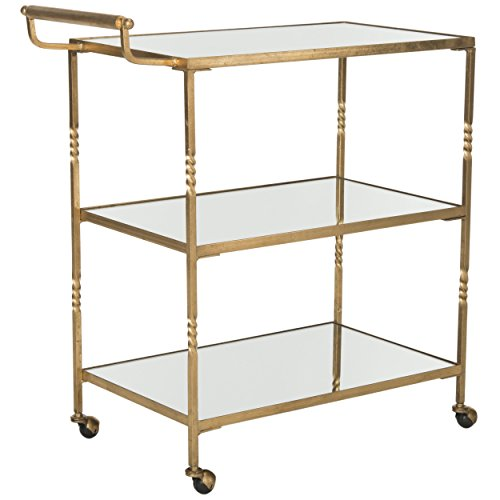 Safavieh Home Collection Aurelius Gold Bar Cart