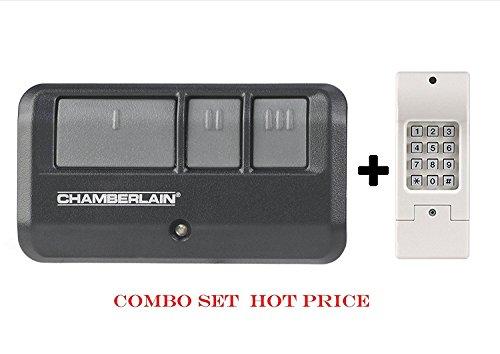 Universal Garage Door Opener Remote Control Replacement Kit, Black and (Pergola Plans Designs)