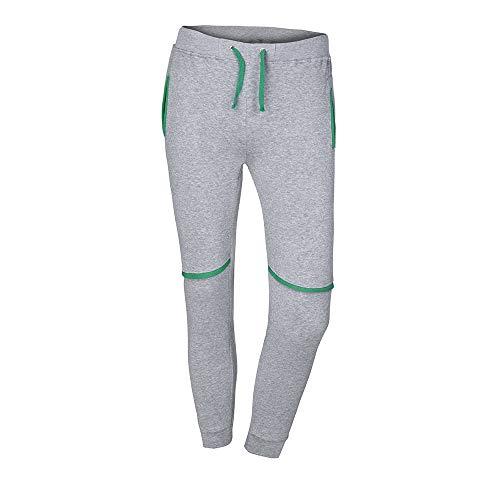 Da A Tuta Per Tascabile Di Uomo Puro Uomo Pantalone Colore Taschino Unita Grigio Lavoro C Sportivo Tinta Pantaloni Jiameng Casual Allenamento 85IwgUq