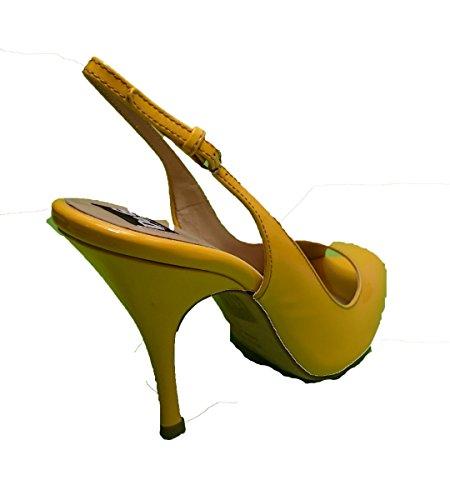 Dolce Til Kjole Sko Kvinder Gabbana Gul PwzqxgZ6