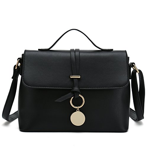 For Bags Designer Body Purses Cross Black Ladies Shoulder Women Fashion Trendy Handbag IEnxSaq5w
