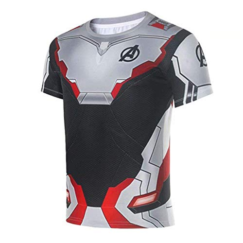 Horries 3D Print T Shirts Superhero Cosplay Costume ()