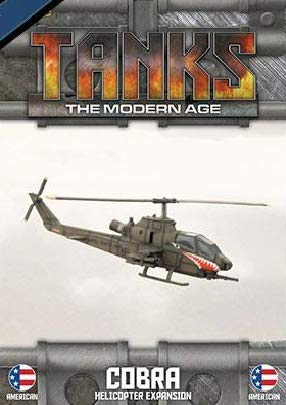 Team Yankee - American Army 1:100 AH-1 Cobra Helicopter Expansion