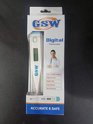 Best Digital Medical Thermometer (Baby and Adult Termometro), Accurate and Fast Readings - Oral and Rectal Thermometer for Children Babies