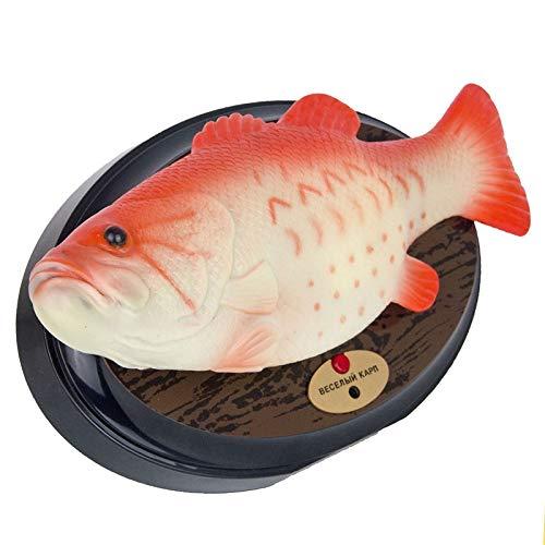 Giocattolo elettronicoDiverdeente Elettronico Cantando Plastica Pesce Batteria Giocattolo Robot Simulato Pesce