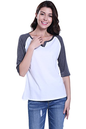 MISS MOLY Womens T-Shirt Blouse Short Sleeve Long Sleeve Casual Tops Halloween Costume Denim Vest