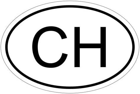 Kiwistar Schweiz Ch 15 X 10 Cm Autoaufkleber Sticker Aufkleber Kfz Flagge Auto