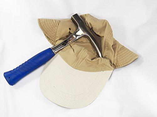 Fundamental Rockhound Products: Assorted Gift Sets for Rockhounds, Prospectors, Geologists, Beachcombers, Shellers (Pick Hammer + Hat (24 Oz Masons Hammer)
