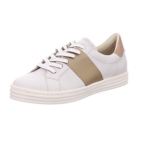 Zapatos Weiß Cordones Maripé 1 De Para Mujer 22339 BSFaPwxF