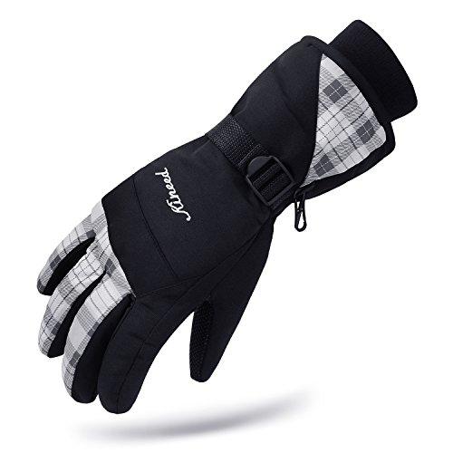 KINEED Waterproof Women Winter Ski Snowboard Snow Riding Biking Driving Thinsulate Insulated Warm Gloves – DiZiSports Store