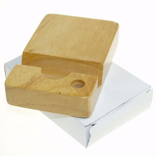 Wood Smart Phone and Stylus Cradle