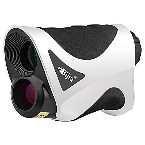 BIJIA 6X Golf Rangefinder- 650Yards Laser Range Finder with Flag-Locking,Ranging, Speed Measurement,Vibration and Fast Focus System for Golf,Hunting,Archery,Racing,Shooting, Engineering Measure. ...