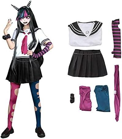 Danganronpa Dangan Ronpa Mioda Ibuki School Uniform Cosplay Costume Dress Outfit