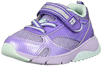 Stride Rite Unisex-Child SBGS190602 Made2play Indy Boy's/Girl's Machine Washable Sneaker Purple Size: 4 M US Toddler