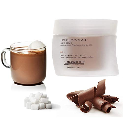 Giovanni Sugar Scrub, Hot Chocolate, 9 oz (260 -