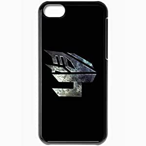 Personalized iPhone 5C Cell phone Case/Cover Skin Transformers 4 Black