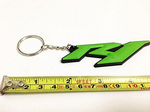 Motor _ Pro clave cadena llavero verde para Yamaha R1 Racing ...