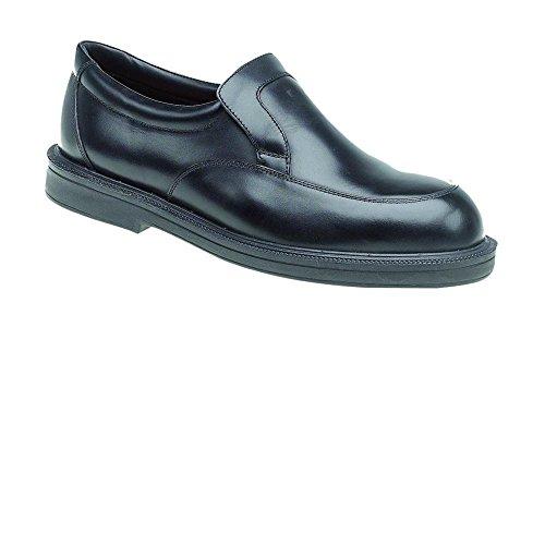 Himalayan 9910–12Dual Density slip on scarpe di sicurezza, taglia 12, nero