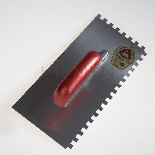 Glä ttekelle - Zahnung (8 x 8) handelspark24