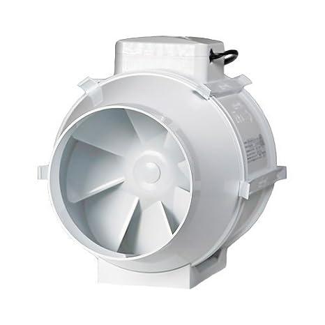 2 speed SMF150T Run On Timer Fan in line Mixed Flow 6 150mm Bathroom Shower Extractor Fan 530m3//hr