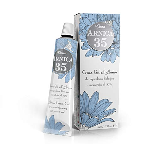 Dulàc - Arnica 35 - THE MOST CONCENTRATED - Arnica Gel Cream with a 35% concentration - 100% Made in Italy - 1.7 Fl.oz