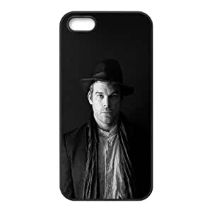 iPhone 4 4s Cell Phone Case Black hd38 michael c hall dark dexter film celebrity LV7930199