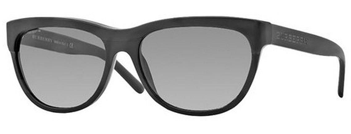 306aa36866b Burberry 4176 300111 Black 4176 Wayfarer Sunglasses Lens Category 2   Amazon.co.uk  Clothing