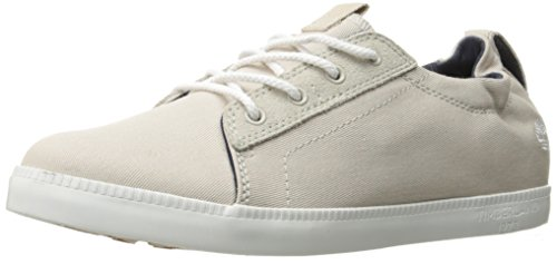 Timberland Women's Newport Bay Canvas Ox Oxford, Rainy Day, 9.5 M US (Timberland Sneakers Women)