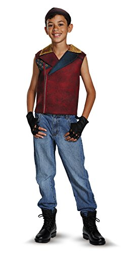 Disguise Jay Deluxe Descendants Disney Costume, Medium/7-8 (Disney Villain Costume)