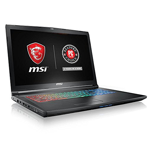 MSI GP72X Leopard-667 17.3' 120Hz 5ms Display Thin and Light Gaming Laptop i7-7700HQ GTX 1050 4G 16GB 128GB NVMe SSD + 1TB Win10 Full Color RGB Keyboard