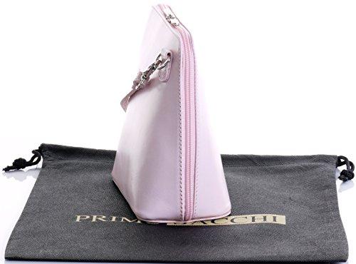 marca borsa custodia croce tracolla borsetta Micro Confetto protettiva a una o pelle In di nbsp;Include Rosa borsa corpo Small italiana xWY1ITqnC
