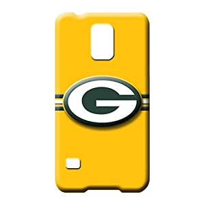 samsung galaxy s5 Plastic cell phone carrying shells Hot New Excellent green bay packers