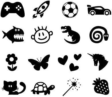 Etiquetas adhesivas personalizables con icono para suministros ...