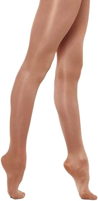 SILKY ADULTS BALLET TIGHTS...FULL FOOT .LARGE..FREE POSTAGE