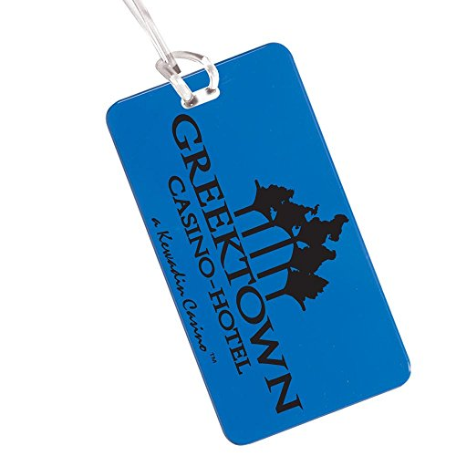 Hi Flyer Luggage Tag - 400 Quantity - $0.85 Each - PROMOTIONAL PRODUCT / BULK / Branded with YOUR LOGO / CUSTOMIZED by Sunrise Identity (Image #1)