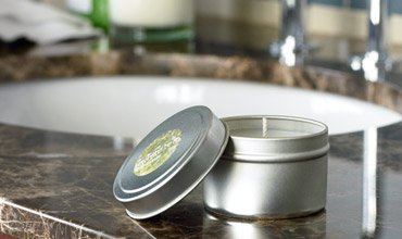White Tea by Westin - Candle In A Tin - Aromatherapy Candle - 3 Tins
